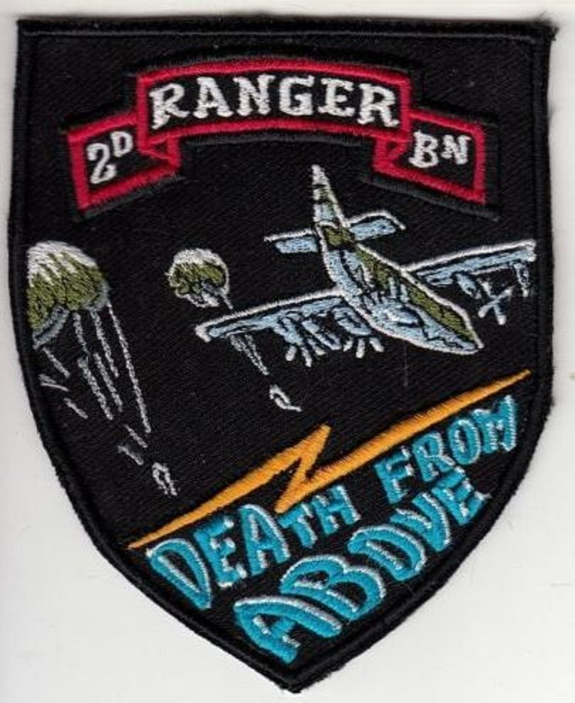 Ranger US Army 75th Airborne Infantry Regiment 2nd Battalion 'Death From Above'