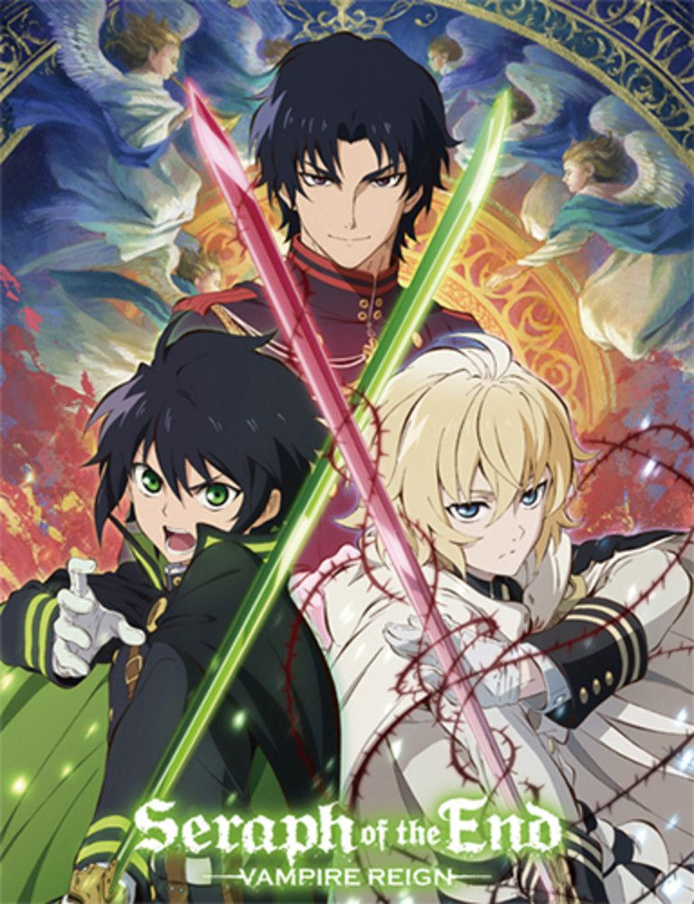 Crossed Swords Seraph Of The End Throw Blanket Seraph Of The End