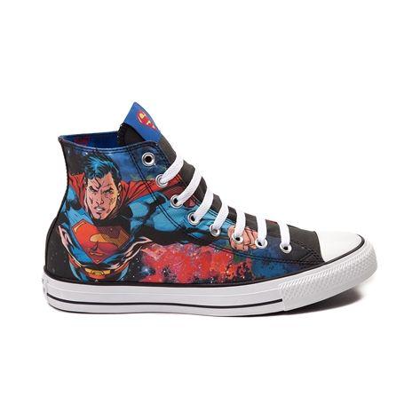 ab36f999d3cb Converse Chuck Taylor All Star Hi Superman Sneaker