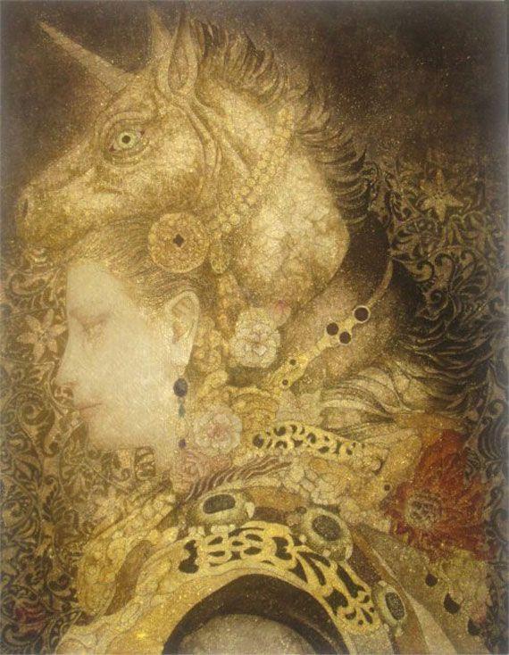 日本画家 笹本正明が描く耽美で妖艶な幻想的世界 artist database 日本画 笹本 院展