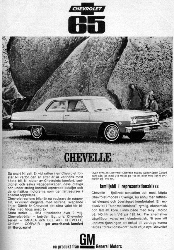 65 Chevelle Chevrolet Chevelle Muscle Car Ads Automobile
