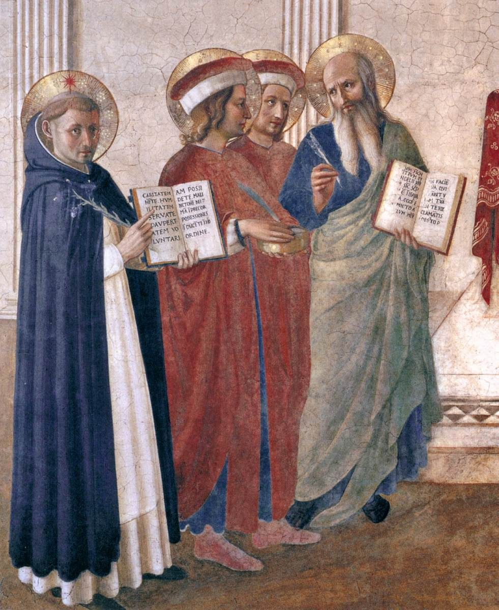 Sacra Conversazione (detail), c. 1443 | Convento di San Marco, Florence | Fra Angelico
