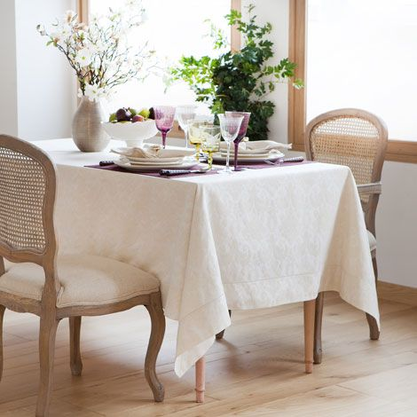 Tischdecke mit Rosenjacquard - Tischdecken - Tisch   Zara Home Deutschland