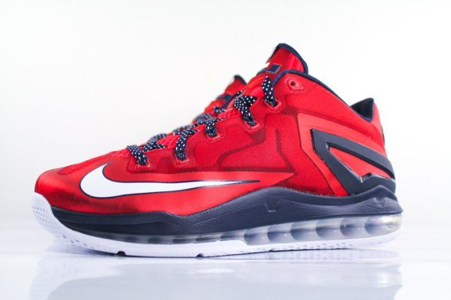 """huge discount b9b20 4cc18 Nike LeBron XI (11) Low """"Independence Day"""" New Images"""