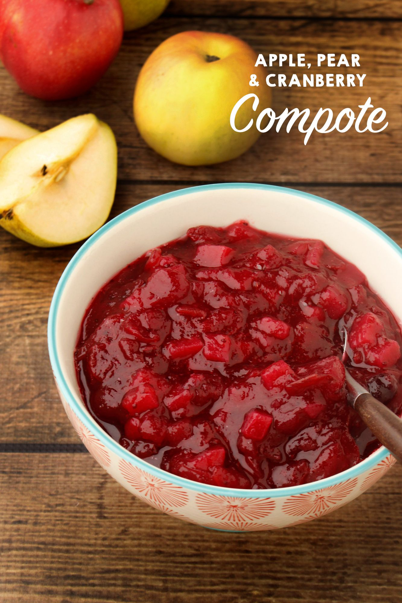 This sweet and tart compote is perfect to replace that