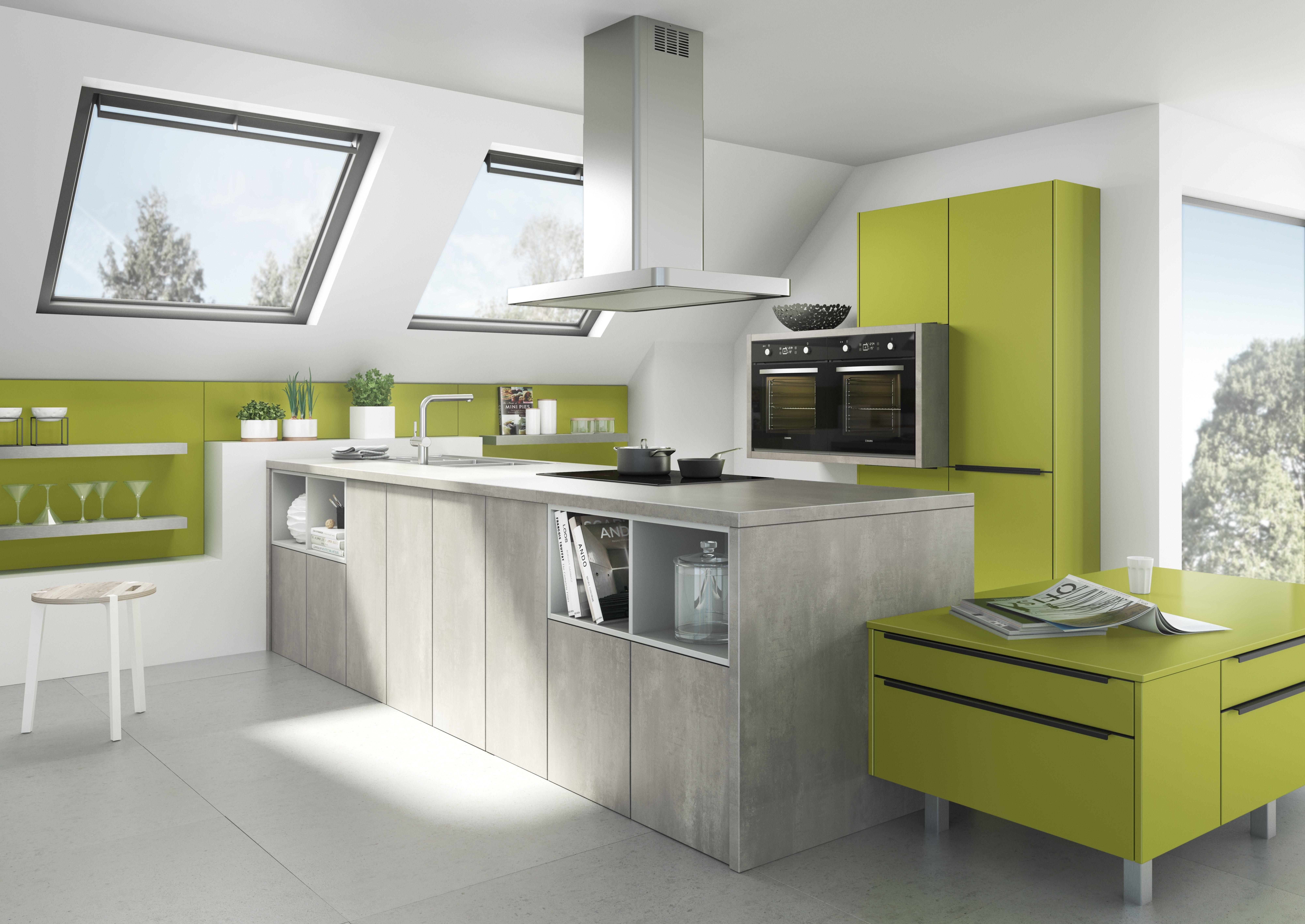 Farben machen das Leben interessanter. So auch bei Küchen