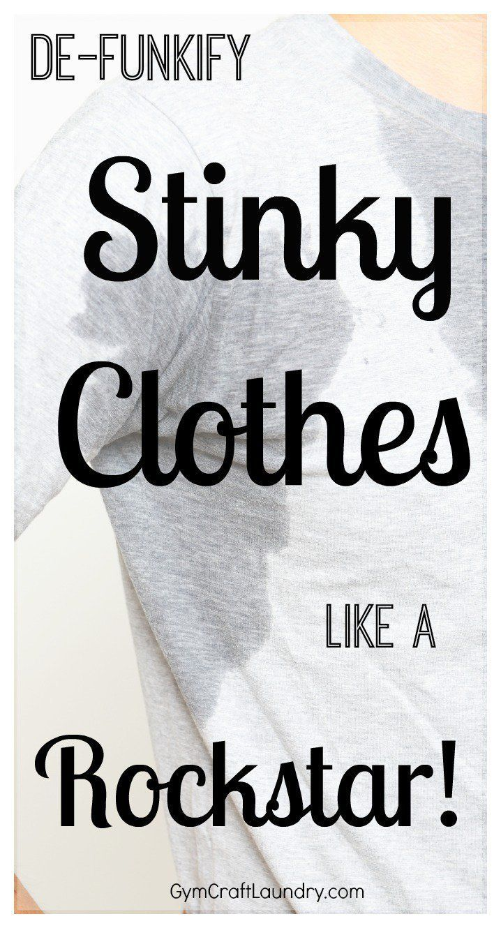 How to clean stinky workout clothes Diy laundry