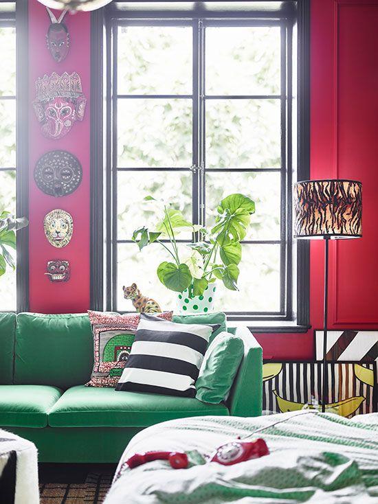 een stylish bohemian slaapkamer wooninspiratie ikea interior