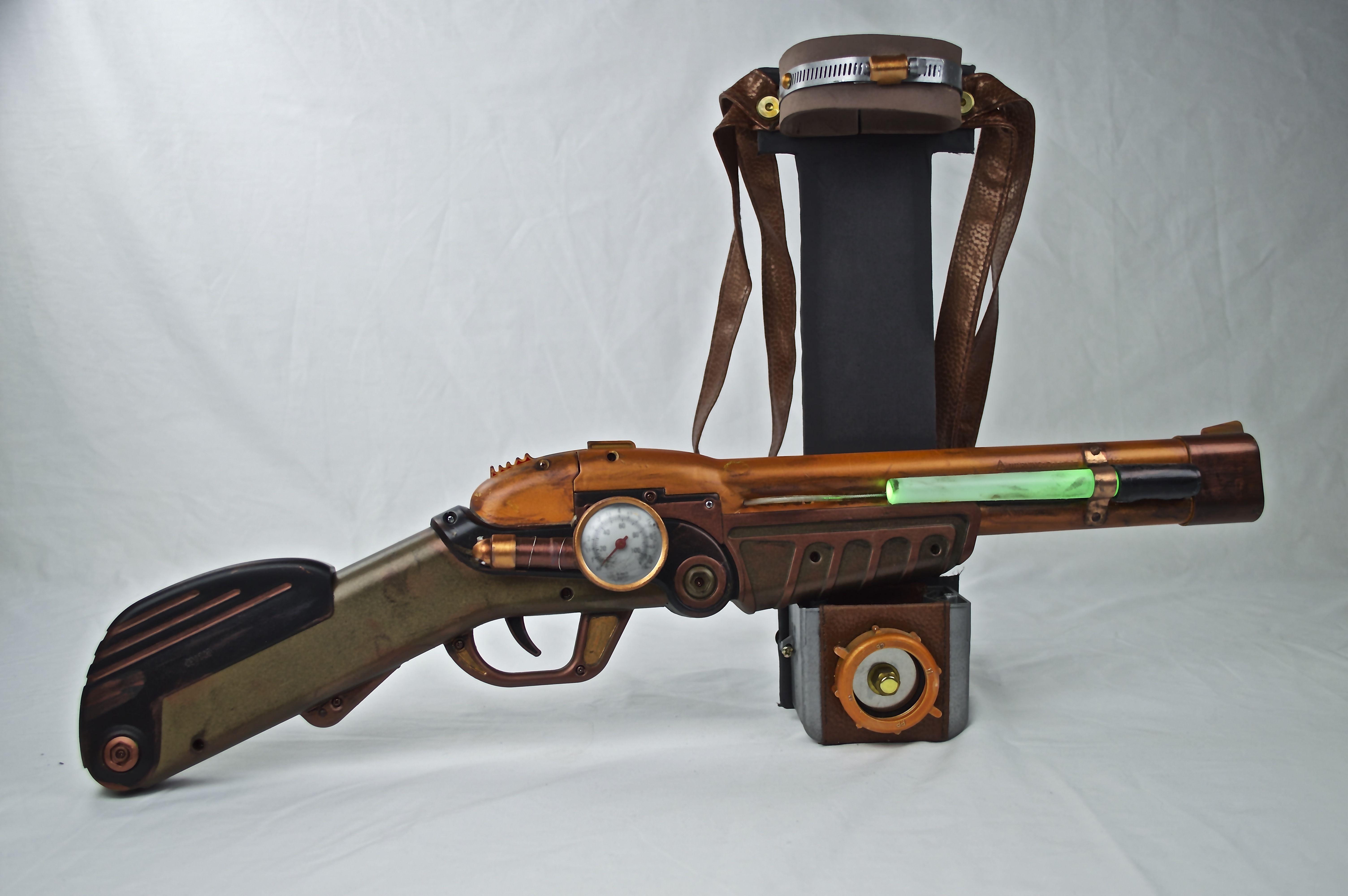 My Steampunk plasma shotgun.