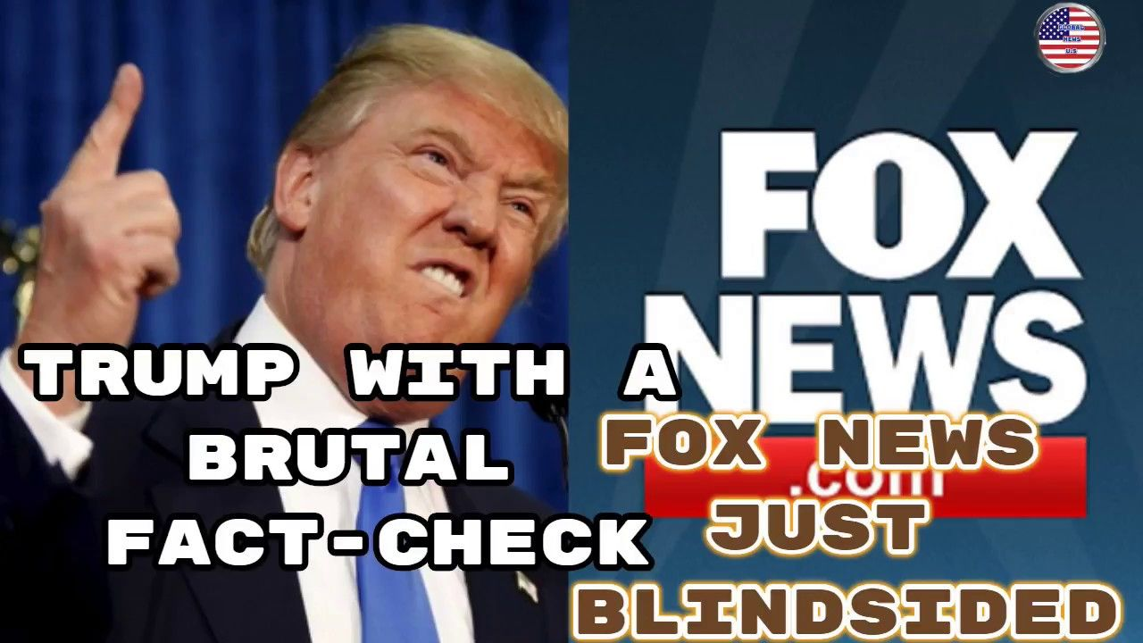 Fox News Just Blindsided Trump With A Fact Check Of One Of His Tweets From Today Youtube Fact Checking Breaking News Today Youtube