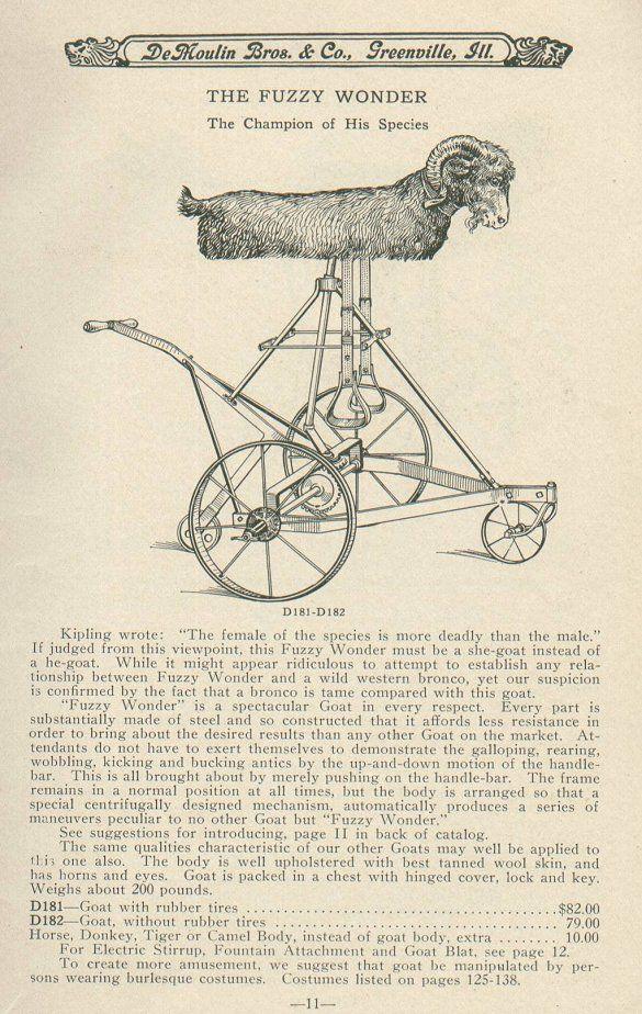 190 Ad: The Fuzzy Wonder Goat
