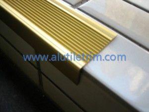 Aluminum Stair Nose, Www.alutiletrim.com Aluminum Stair Nosing | Aluminium  Tile Trim Specialist