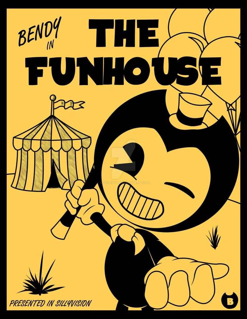 Welcome To The Fun House Yall Bendy And The Ink Machine Cartoon