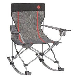 Coleman® Quad Chair Rocker   Fold Up Rocking Chair. Great For Road Trips  With