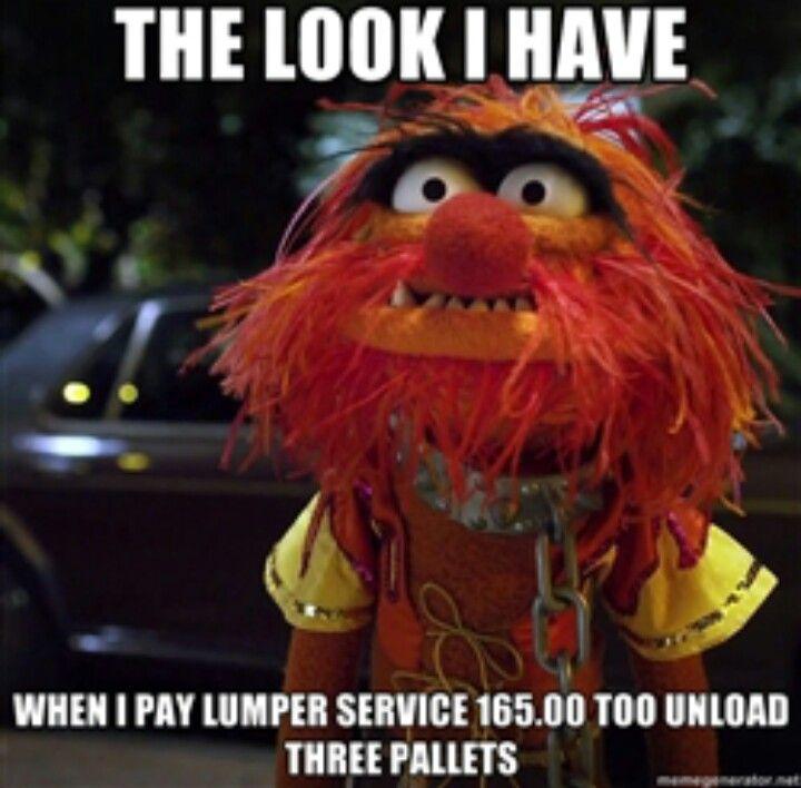 Funny Muppet Meme: Lumper Service Price! Sheesh! Lol
