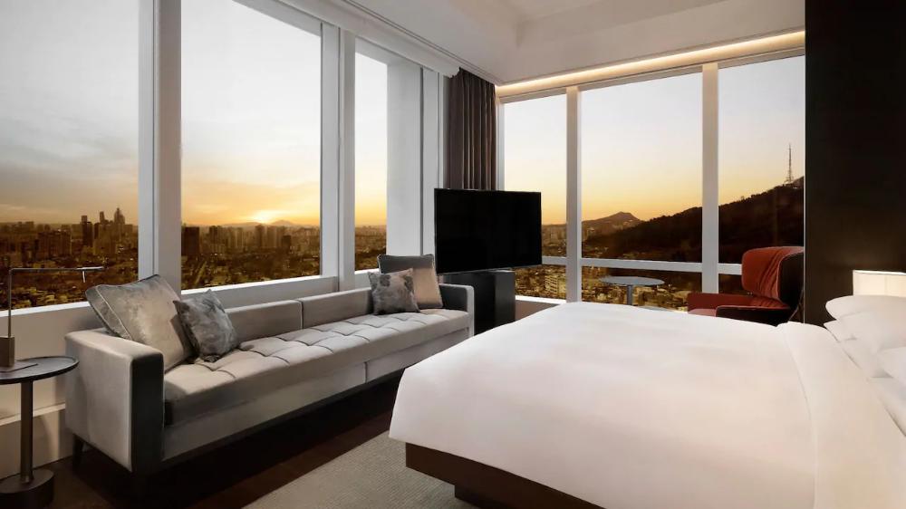Ambassador Suite Grand Hyatt Seoul With Images Hotel Suite