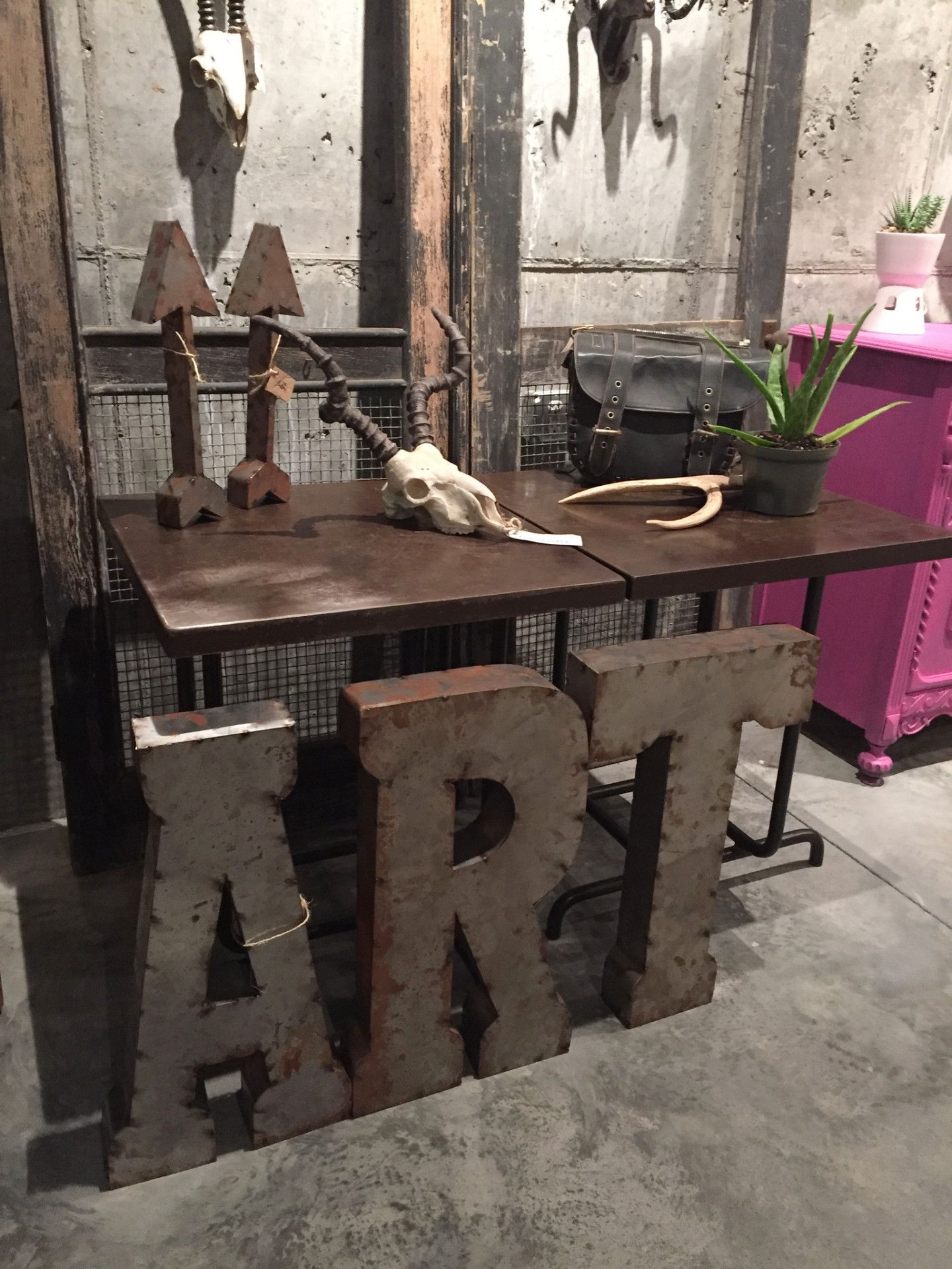 ART RUSTIC METAL LETTERS, Eclectic home, ART, words, wall decor