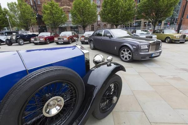 ROLLSROYCE MOTOR CARS CELEBRATES YEARS OF EXCELLENCE AT THE - Rolls royce financial services