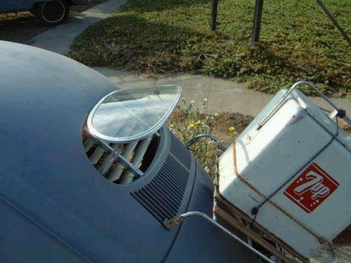 Very Rare Vw Bug W Levered Pop Out Back Window And Rear Deck
