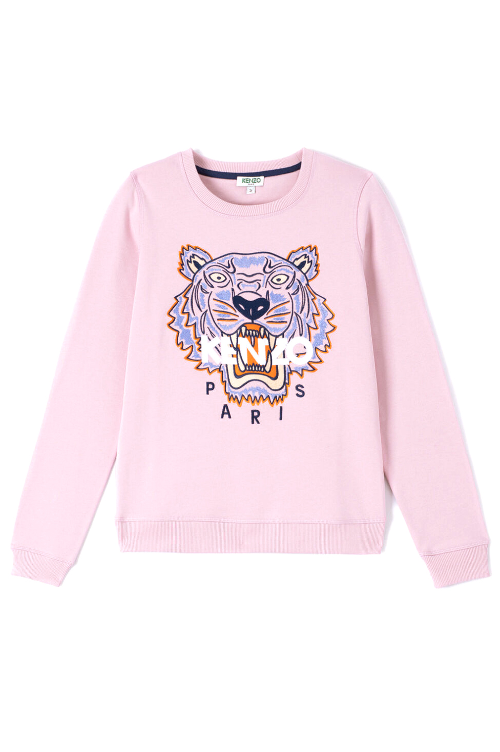 Kenzo Damen Classic Tiger Sweatpullover Rosa | SAILERstyle