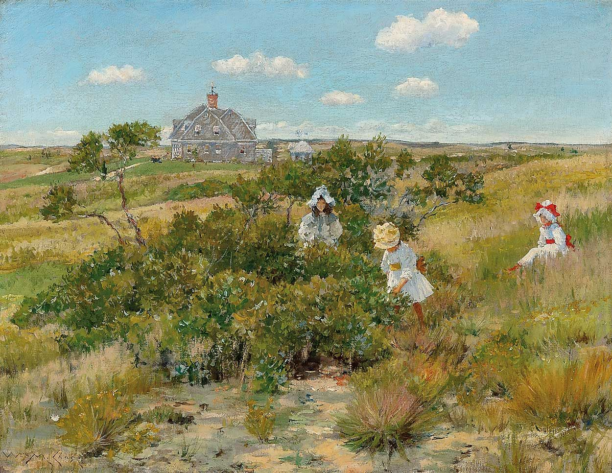 9 William Merritt Chase 1849 1916 The Big Bayberry