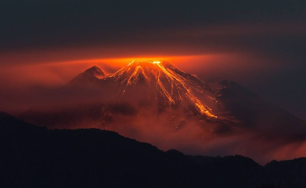 Nestled in the east Andes of Ecuador, records hold that the Reventador volcano has erupted a mere 25 times since 1541. With that said, howev...