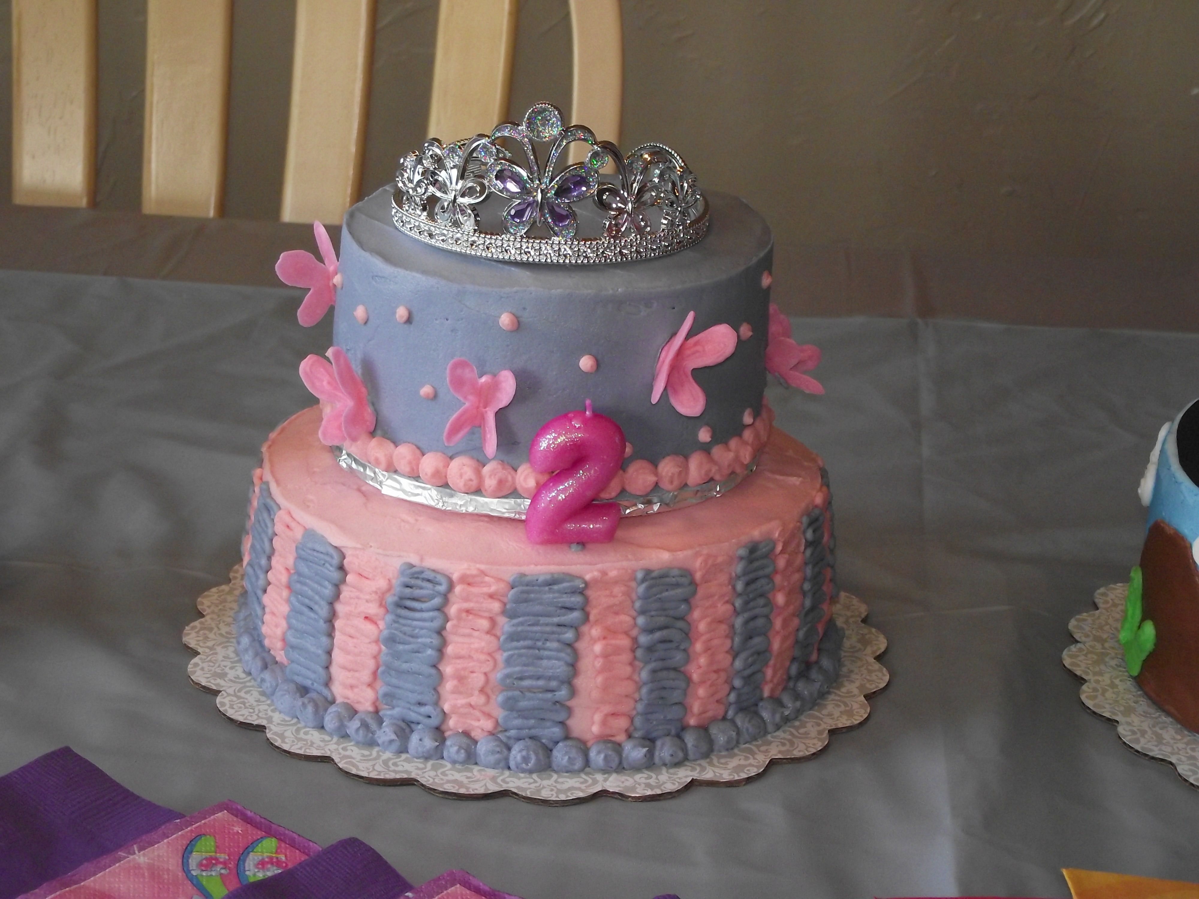 I Love Thistiara And  Would Be In Line Though Special - 2nd birthday cake designs