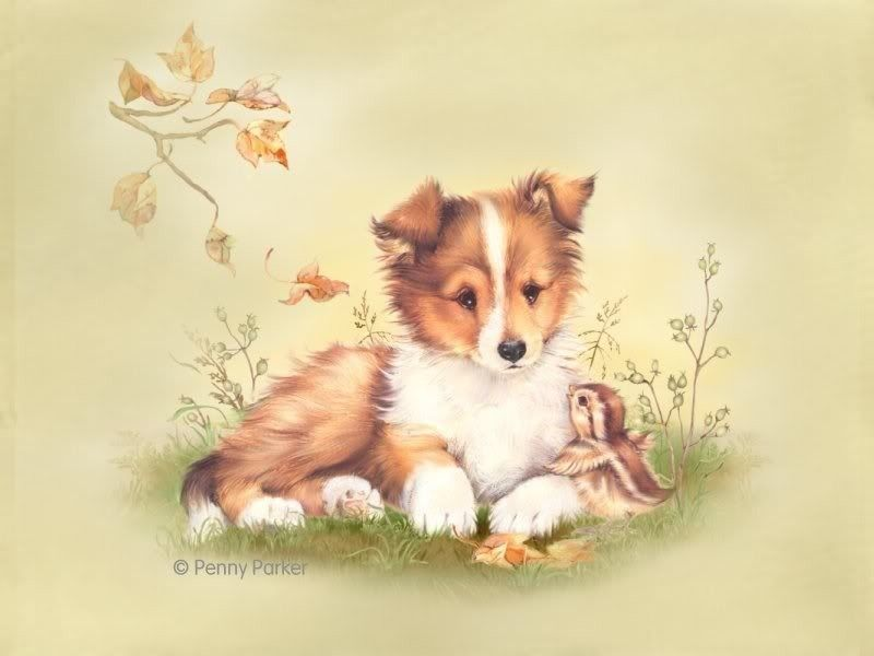милые открытки с собаками искать для