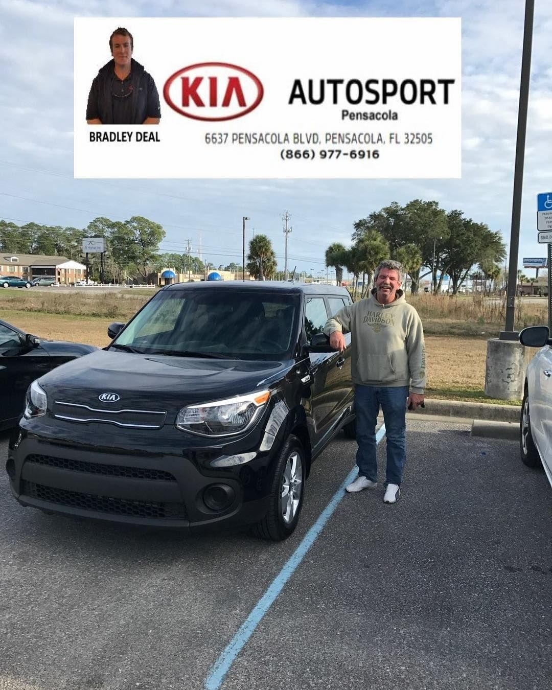 Bradley Deal And KIA AutoSport Of Pensacola Would Like To Thank Mr. Craig  Moyer For