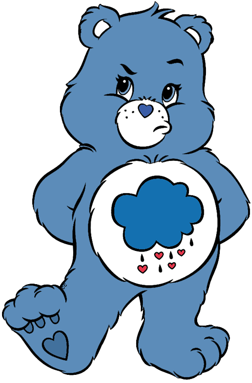 Love Him Love Him The Effective Pictures We Offer You About 90s Cartoons A Quality Pict Care Bear Tattoos Grumpy Care Bear Blue Cartoon Character