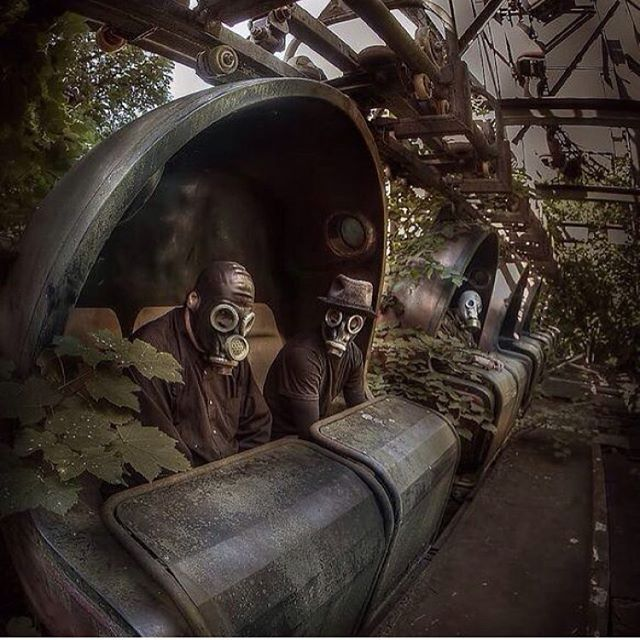 Abandoned Theme Park Location Unknown