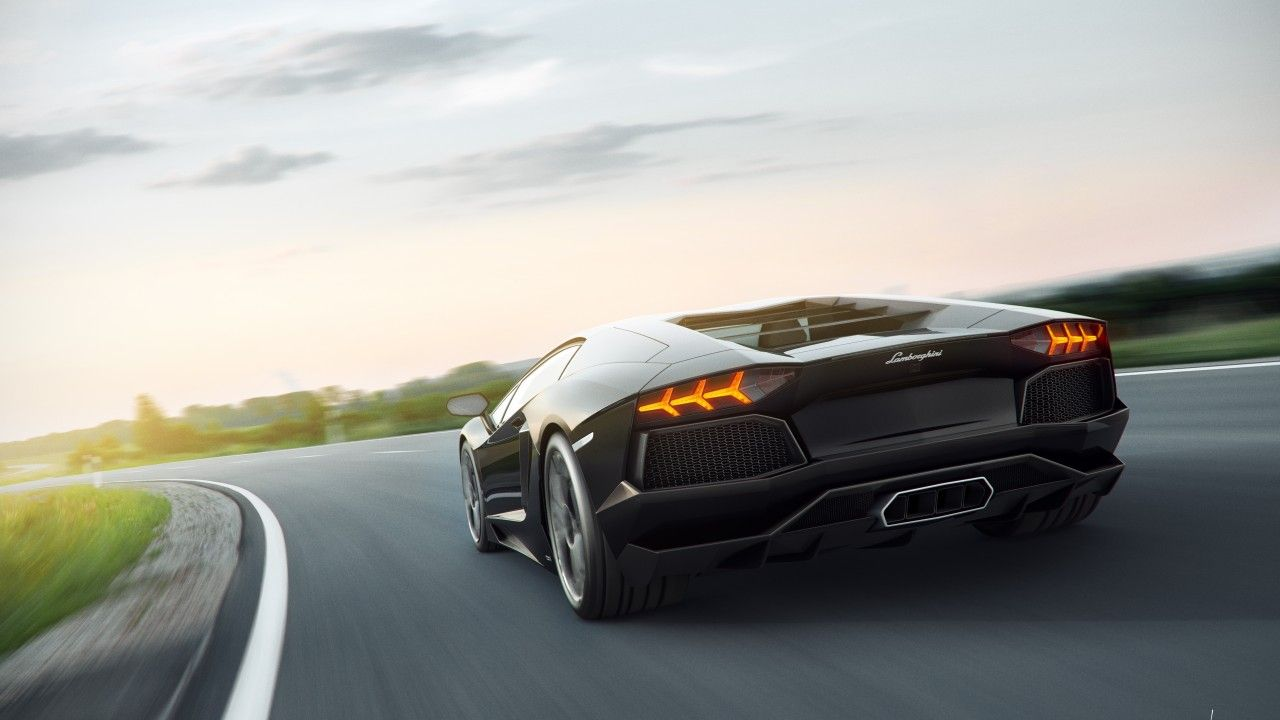 Lamborghini 5k 4k Wallpaper 8k Supercar Aventador Black