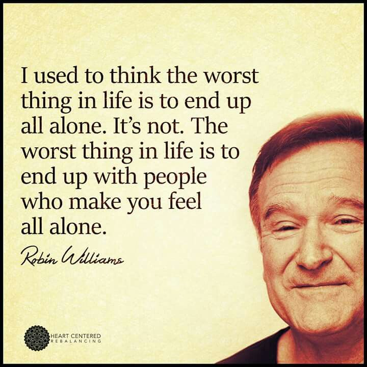 Sad Quotes About Depression: Robin Williams