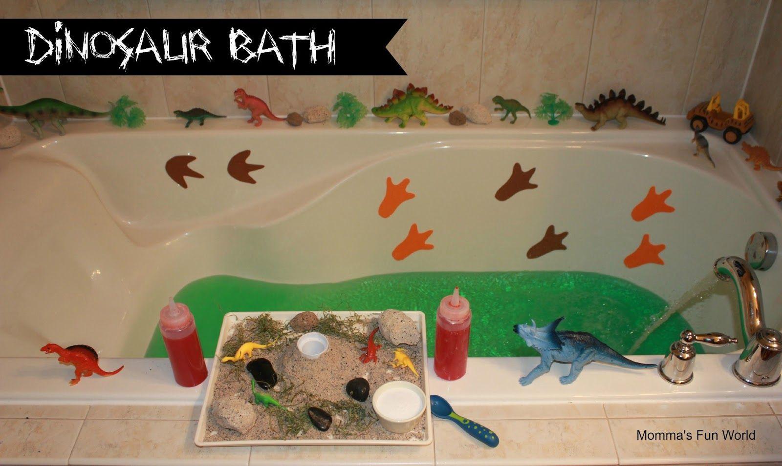 Dinosaur eggs erupting bath fun fun for all ages - easy to make eva ...
