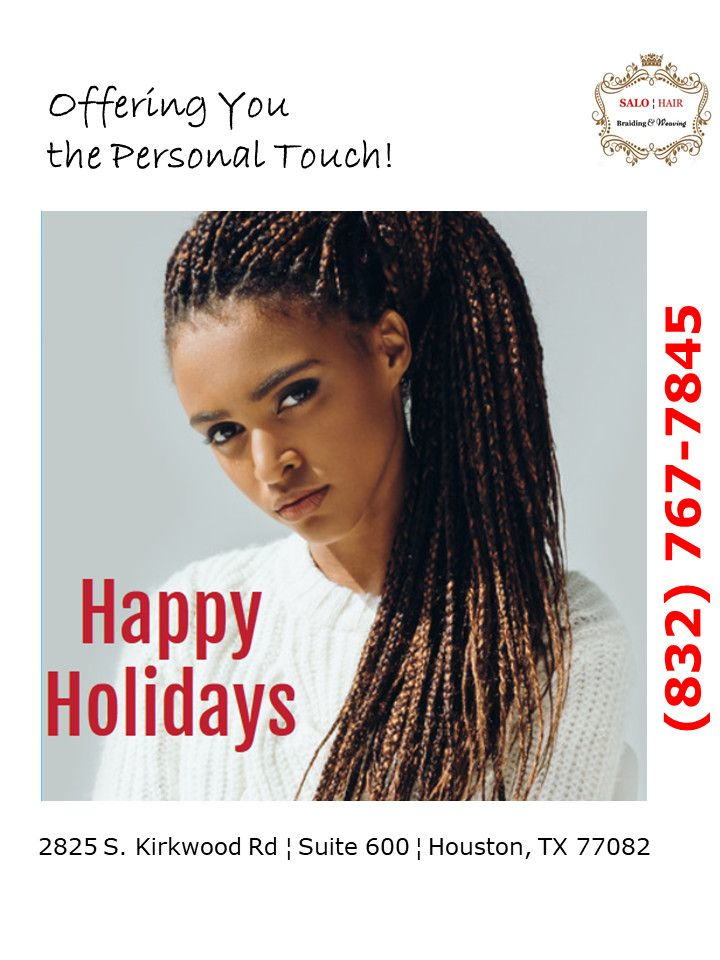 Our holiday sale is on enjoy free hair for your braids