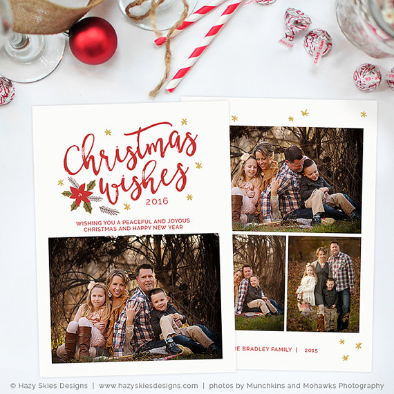 Christmas Card Template For Photographers Christmas Card Template For Photoshop Holiday Card Template Photoshop Christmas Card Template Unique Christmas Cards