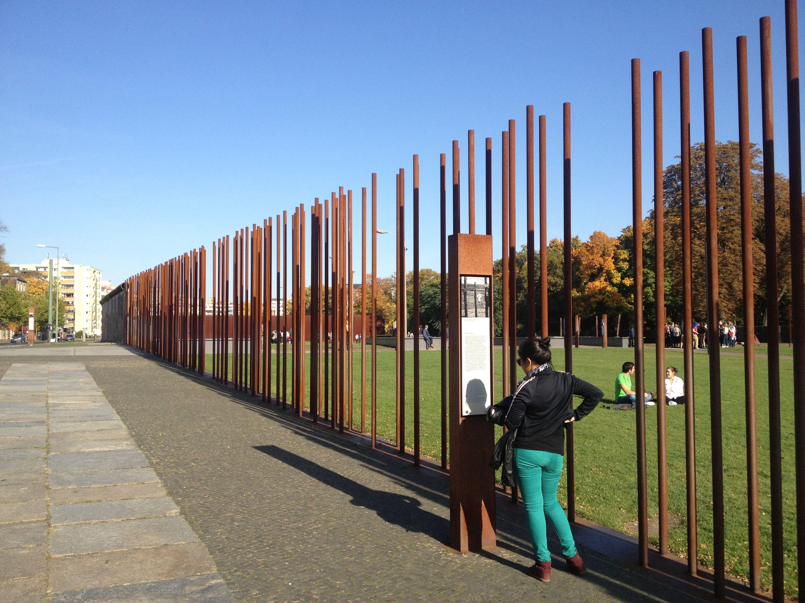 Memorial Do Muro De Berlim Gedenkstatte Berliner Mauer Bernauer Strasse