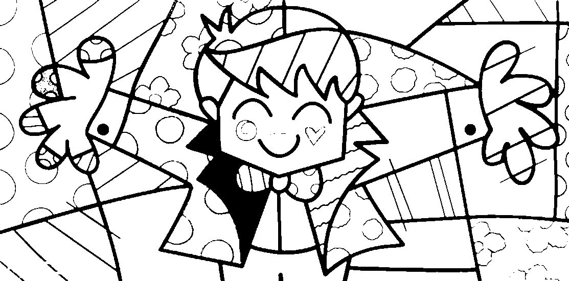 britto coloring pages - Google Search   More Art 2   Pinterest ...