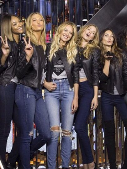 Candice Swanepoel jeans