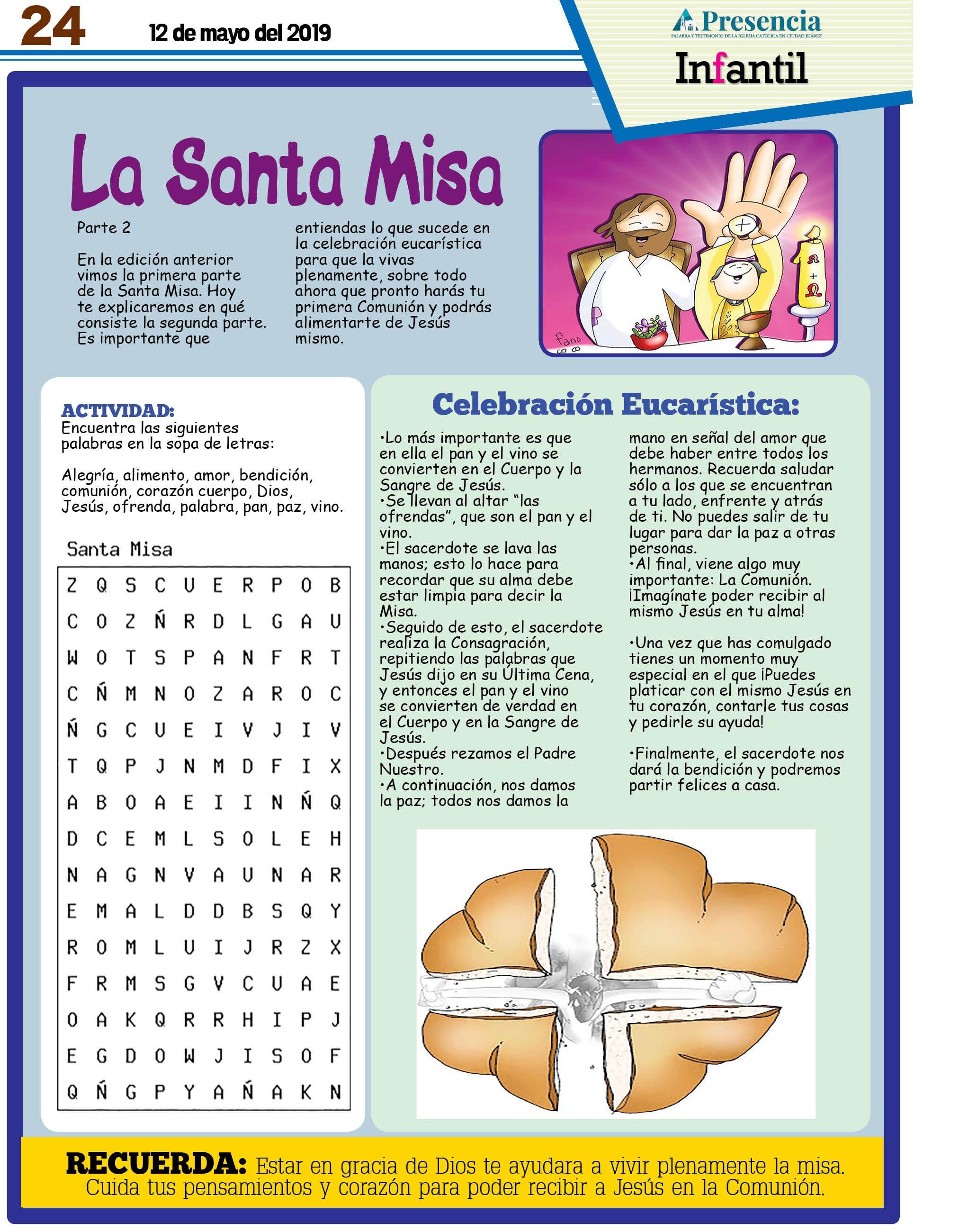 Pin De Silvia Puebla En Catequesis Temas De Catequesis Actividades De La Biblia Partes De La Misa