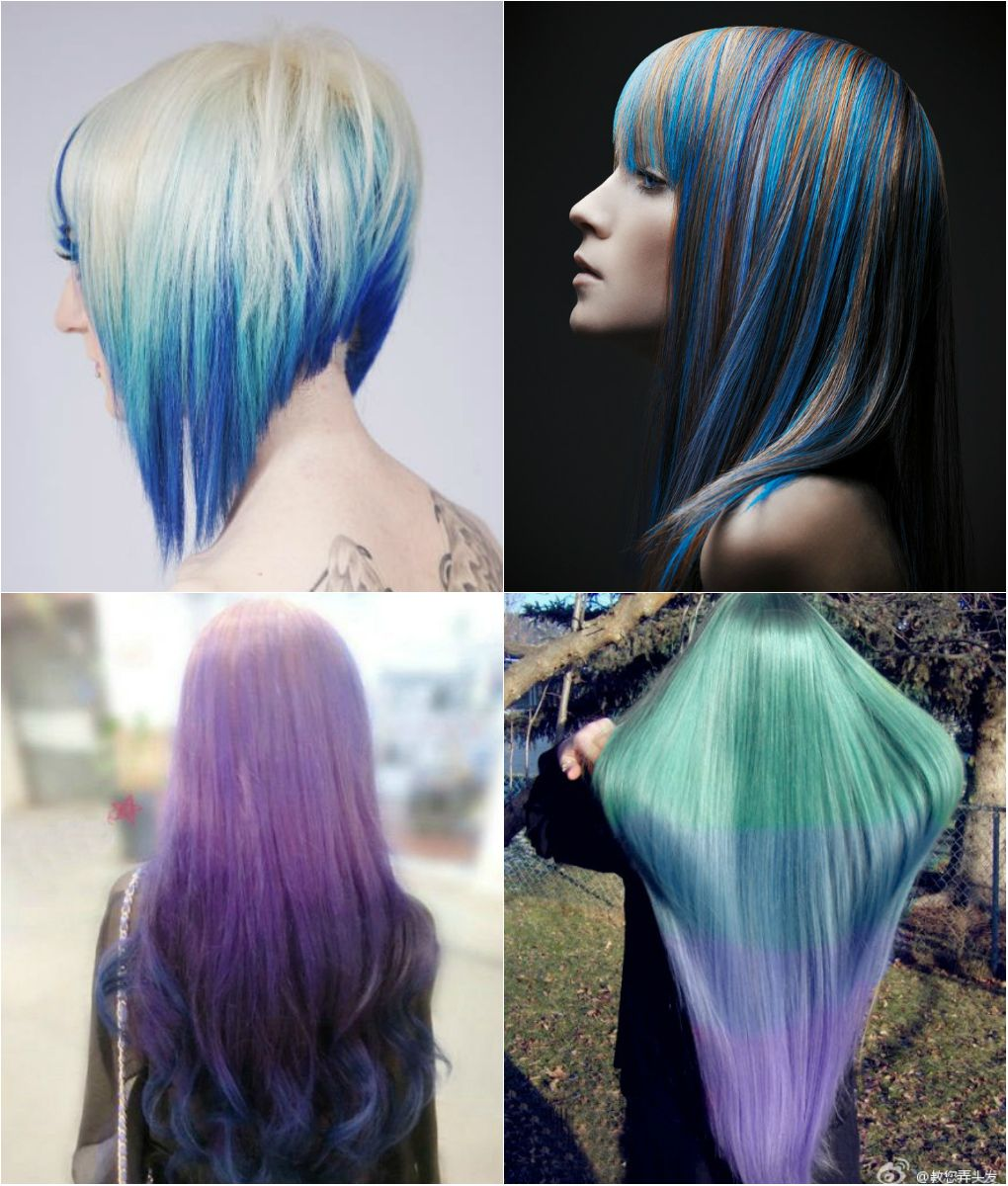 Blue and Violet Ombre Hair Color You Can Try Out in 2013 - | Ombre ...