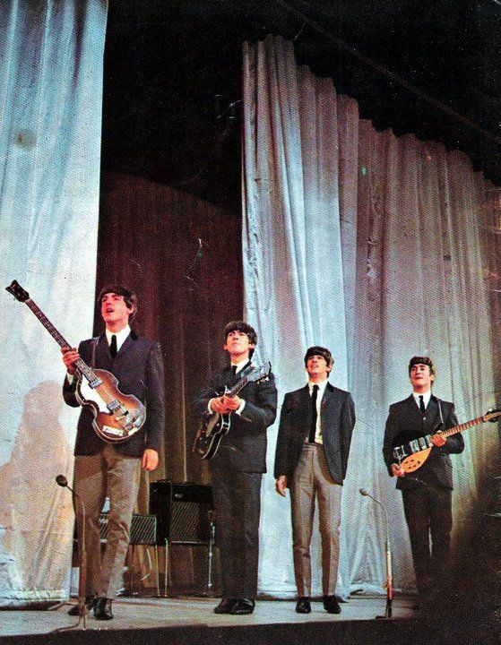 The Beatles at the Royal Command Performance