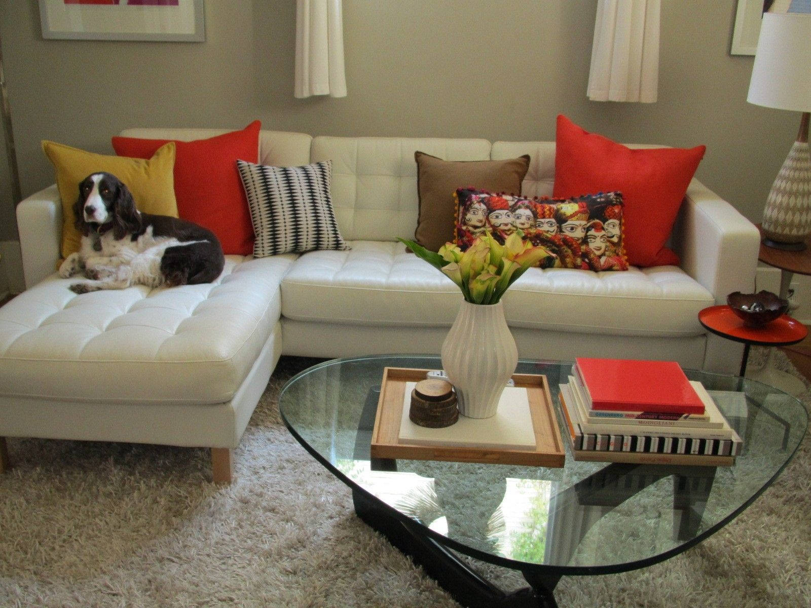 Accent Pillows For White Leather Sofa | http://tmidb.com ...