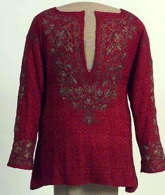 Digital Museum - Jersey 17th century knitted waistcoat
