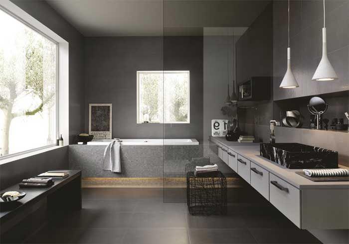 die besten 25 badezimmer unterschrank grau ideen auf pinterest waschtisch mit unterschrank. Black Bedroom Furniture Sets. Home Design Ideas