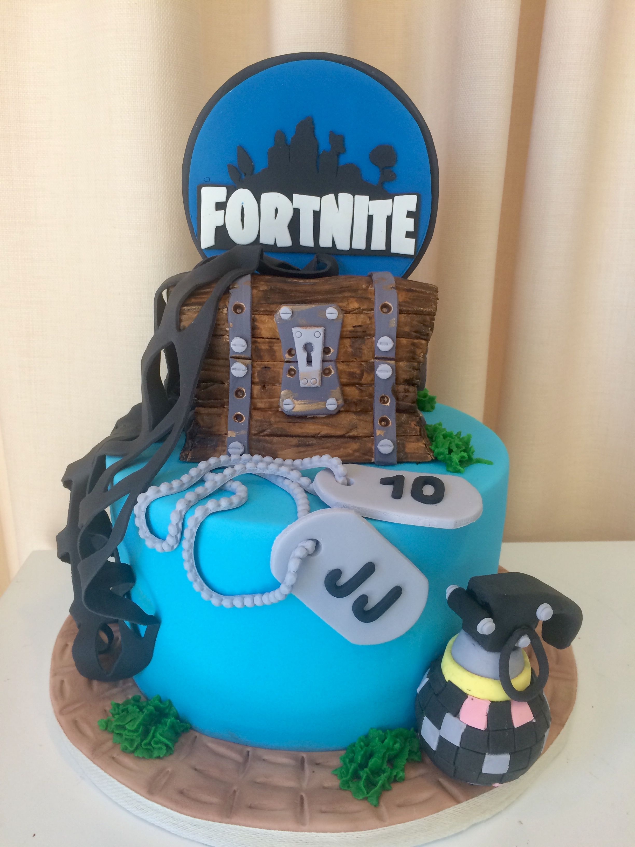 Fornite Cake 9th Birthday Parties 12th Boy Cakes Guava