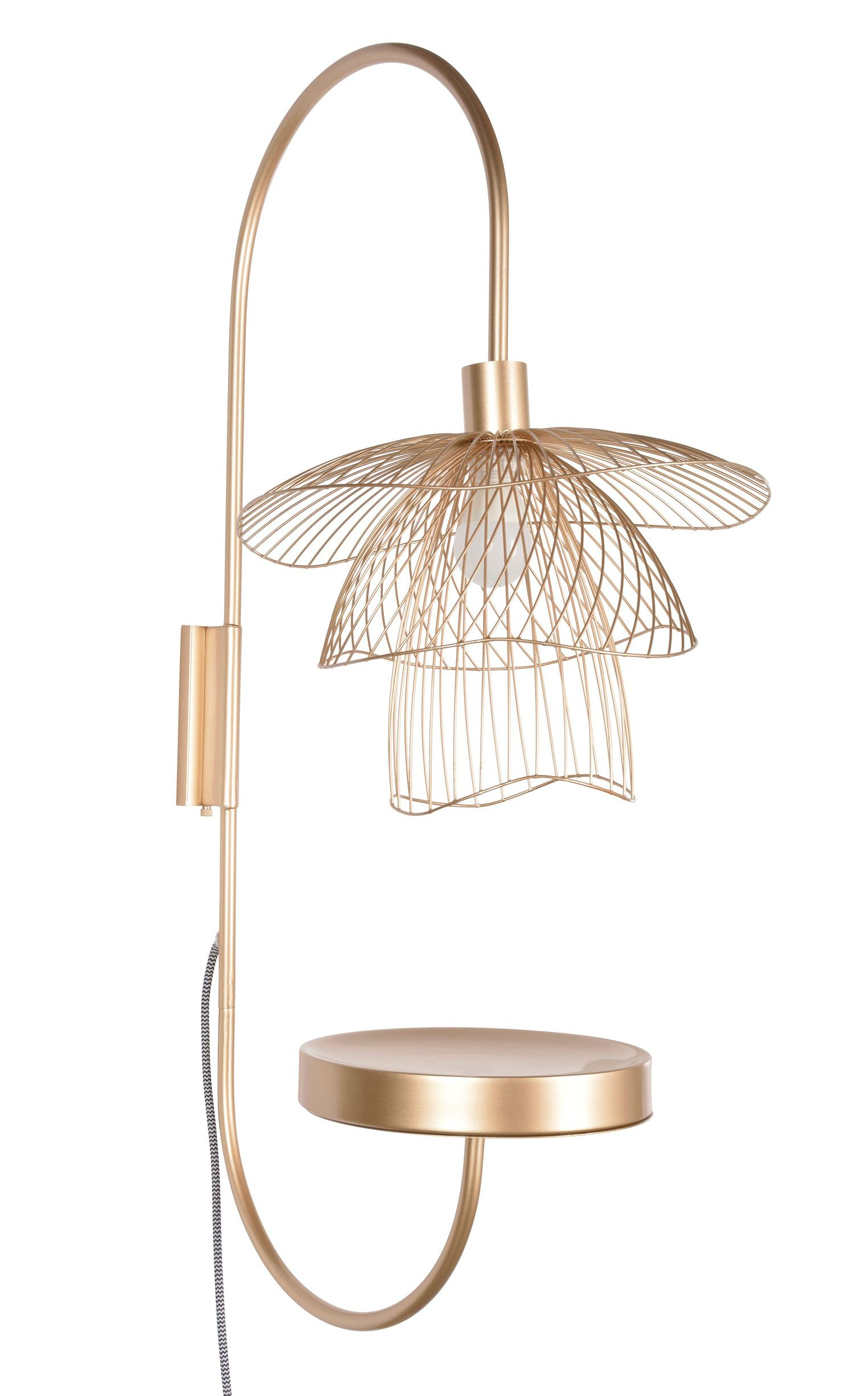 Buy papillon metal wall light by forestier