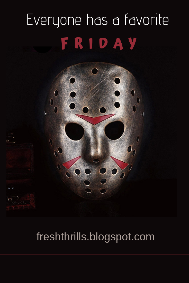 Favorite Friday The 13th Movie Jason Mask Jason Voorhees Friday The 13th