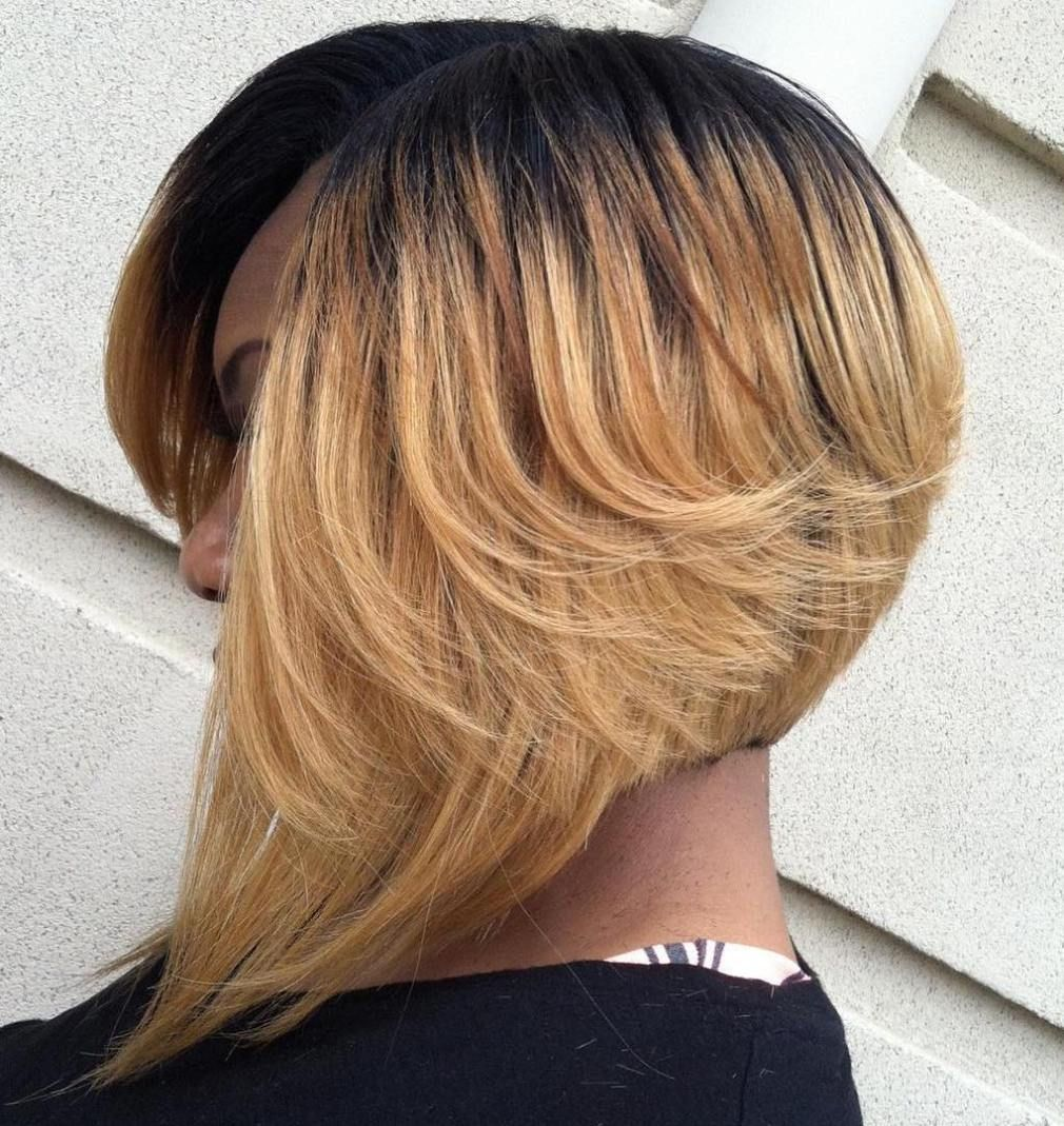 stunning ways to rock a sew in bob bobs ombre colour and ombre