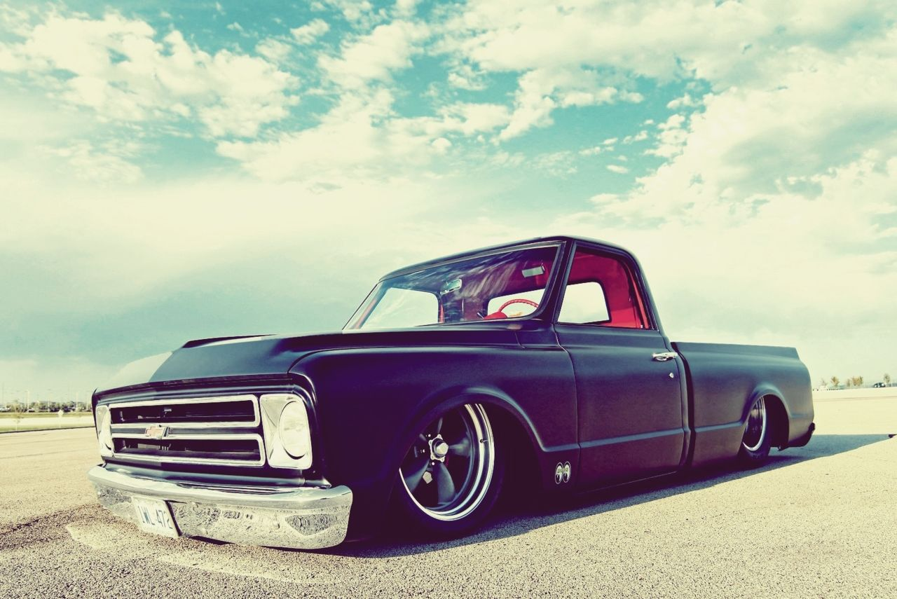 All Chevy chevy c10 body styles : 1967 Chevrolet C10. Small back window. A little low for my taste ...